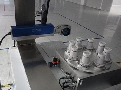 激光打标机在LED多工位旋转上的应用