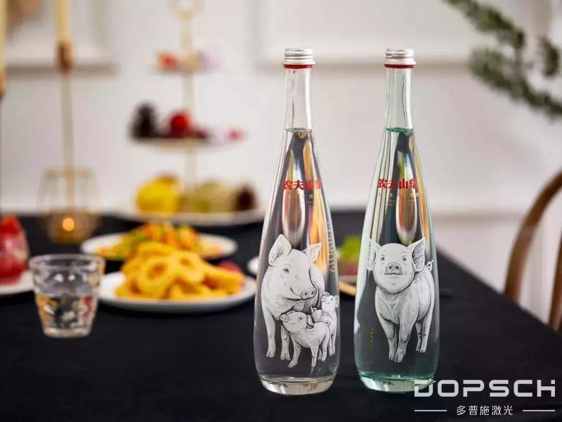 2019农夫山泉激光内雕工艺金猪瓶,您值得拥有!