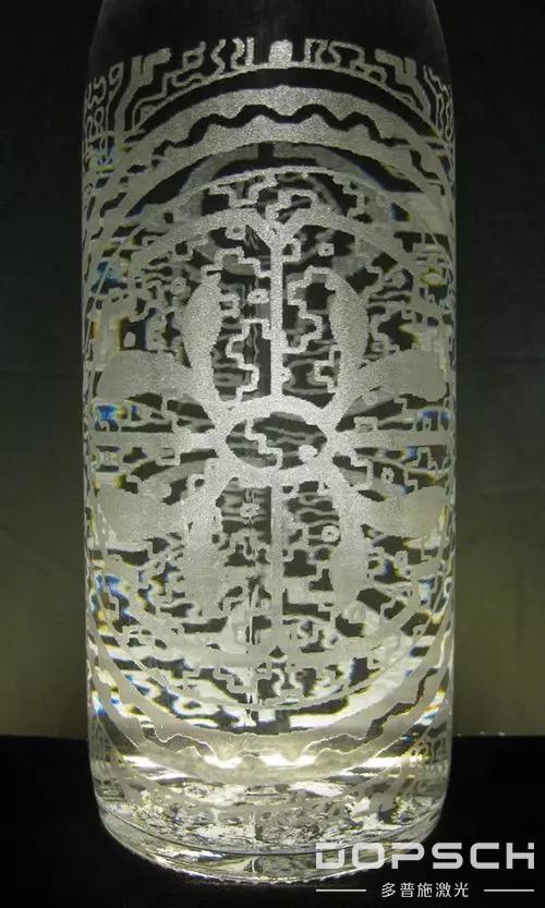激光内雕玻璃瓶