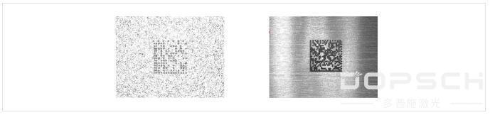纹路及铸件表面上二维码激光打标