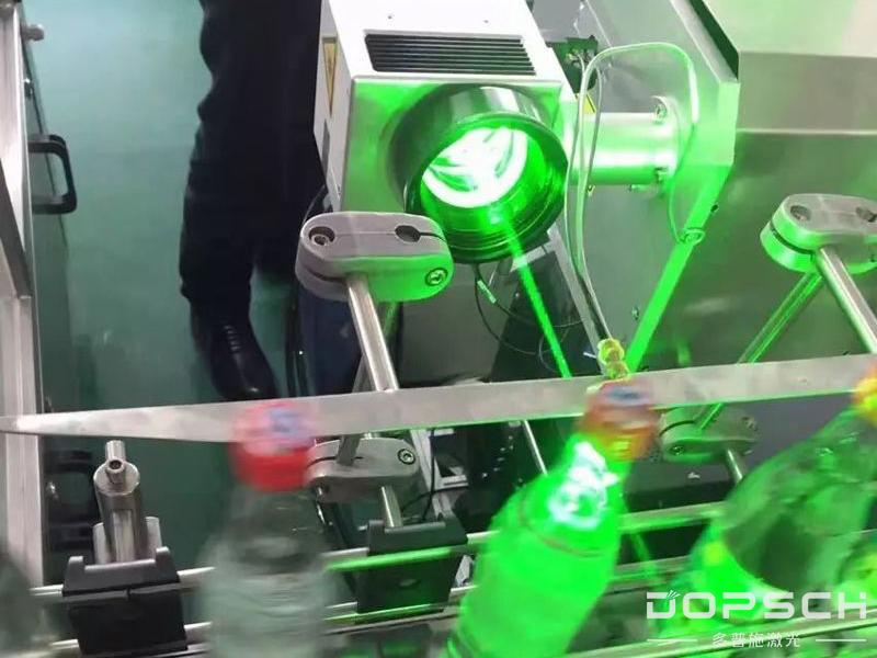 酒水生产线激光喷码机